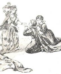 And her sisters fell down on their knees and begged her pardon for using her so badly...