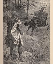 Sir Gringamore Rides Away with the Dwarf
