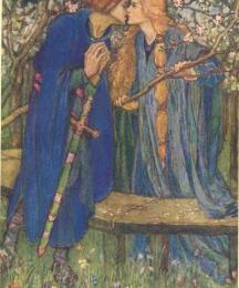 In That Garden Fair Came Launcelot Walking; This Is True, the Kiss Wherewith We Kissed in Meeting that Spring Day, I Scarce Dare Talk of the Remember'd Bliss