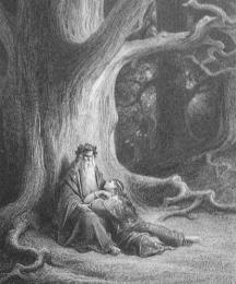 Vivien and Merlin Repose