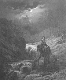 Guinevere's Flight to Almesbury