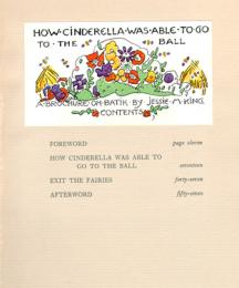 Contents of How Cinderella Was Able To Go to The Ball.