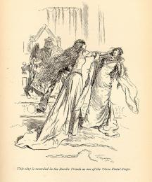 This slap was recorded in the Bardic Triads as one of the Three Fatal Slaps