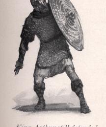 King Arthur still defended himself
