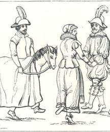 Morris Dance, from a Tracing by Captain Grose