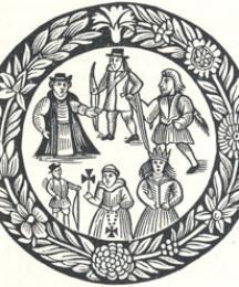 Robin Hood's Garland Woodcut
