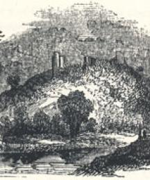 View of Tutbury, Staffordshire