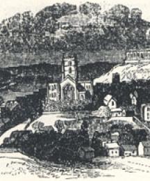 Nottingham in 1680