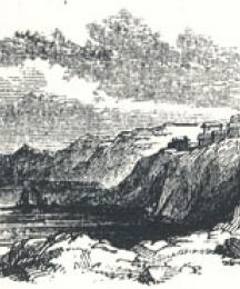 View of Robin Hood's Bay Near Whitby, Yorkshire, Tailpiece to The Noble Fisher-man; or, Robin Hood's Preferment
