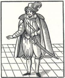A Figure from the Old Ballad, Tailpiece to the First Part of Robin Hood and Maid Marian