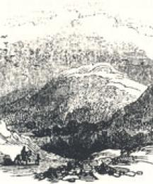 View of Robin Hood's Hill, Headpiece to Robin Hood and the Valiant Knight