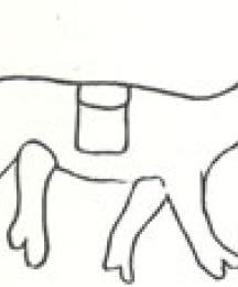 Sketch of Water Mark from Wynkyn de Worde's Hylton's Scala Perfectionis