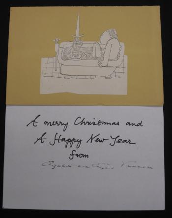 Vinaver Christmas card