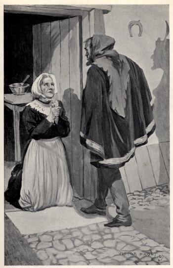 """'Alas!' she wailed, 'I have done no evil'"""