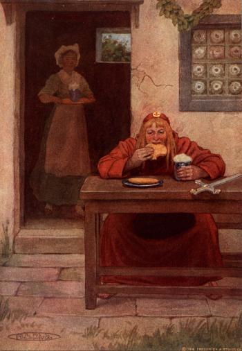 """The Pardoner Had His Cakes and Ale"""