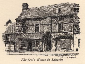 The Jew's House in Lincoln
