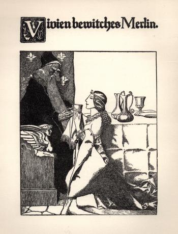 Vivien Bewitches Merlin
