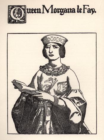 Queen Morgana le Fay