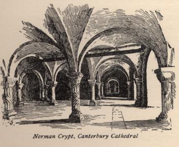 Norman Crypt, Canterbury Cathedral