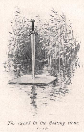 The Sword in the floating stone