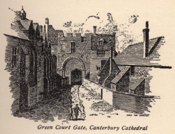Green Court Gate, Canterbury Cathedral