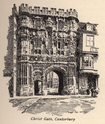 Christ Gate, Canterbury