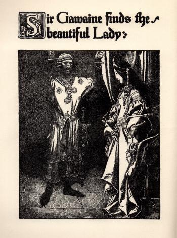 Sir Gawaine Finds the Beautiful Lady