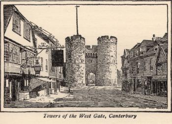 Towers of West Gate, Canterbury