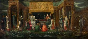 The Sleep of King Arthur in Avalon
