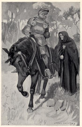 """Sir Knight, your way does not lie hither"""