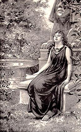 Aurelia in the Garden
