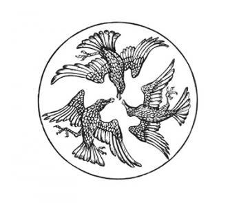 """""""The three ravens of """"Faithful John""""."""""""