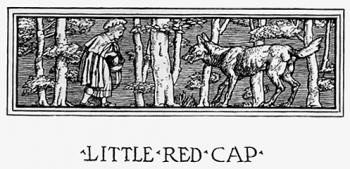 """Headpiece of Little Red Cap."""