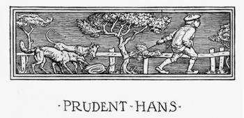 """The headpiece of Prudent Hans."""