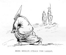 Brer Merlin Steals the Lariat