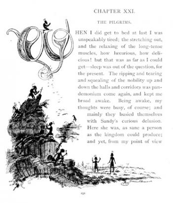 Initial Letter (Chapter XXI)