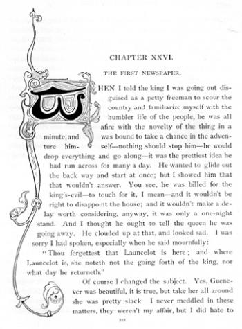Initial Letter (Chapter XXVI)