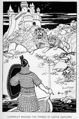 Launcelot Beholds the Towers of Castle Carbonek