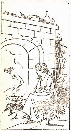 Cinderella at the hearth