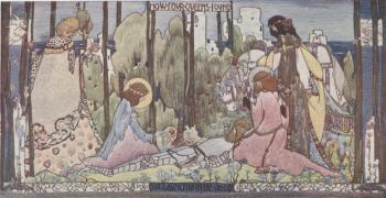How Four Queens Found Sir Lancelot in the Wood