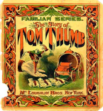 Title Page for the Story of Tom Thumb
