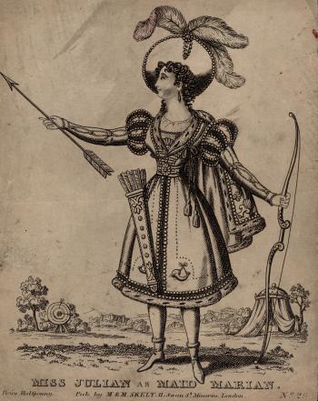 Miss Julian as Maid Marian