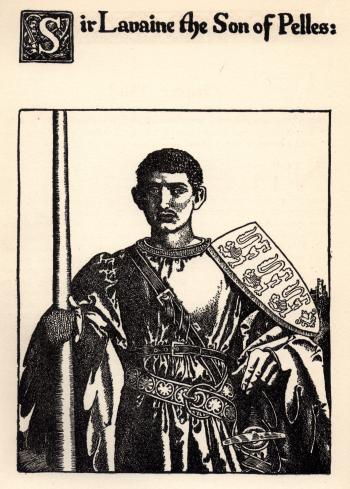 Sir Lavaine the Son of Pelles