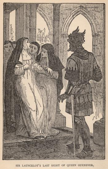 Sir Launcelot's Last Sight of Queen Guenever