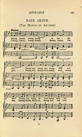 Music to The March of Arthur