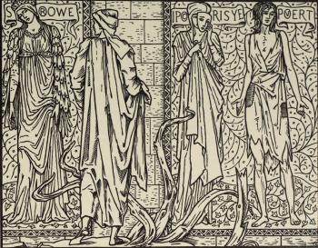 """""""Sorowe was peynted next Envye Upon that walle of masonrye."""""""