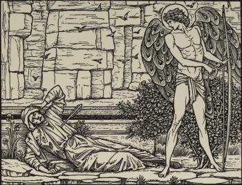 """""""Whan I was hurt thus in that stounde, I fel doun plat unto the grounde."""""""