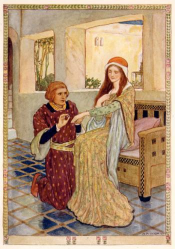 Sir Tristram Gave Her a Ring
