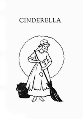 """Frontispiece of Cinderella."""