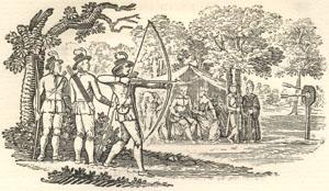 Robin Hood and Queen Katherine